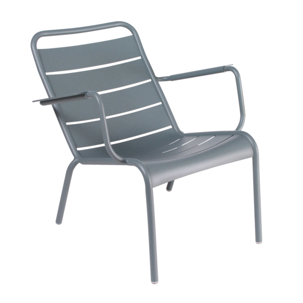 Luxembourg Low Armchair, Storm Grey