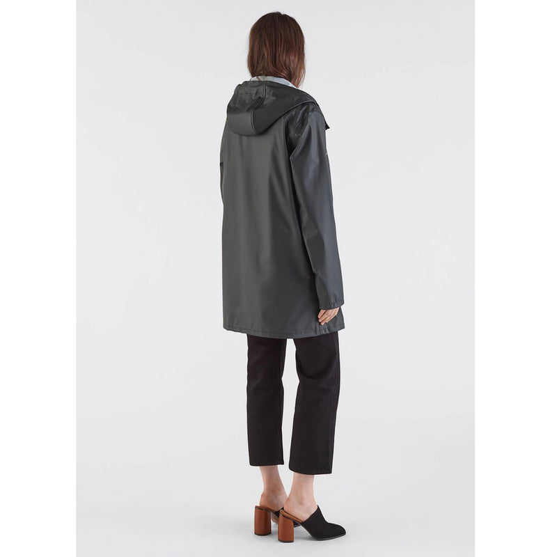 Stockholm Lightweight Raincoat, Black