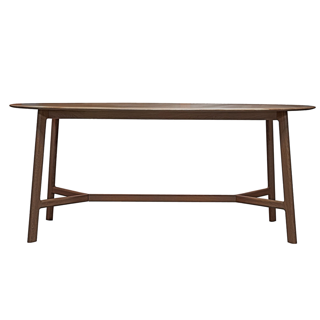 Malmö Oval Dining Table, Walnut