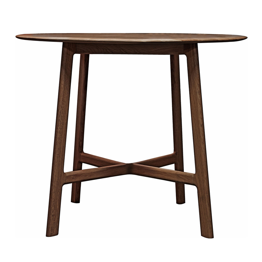 Malmö Round Dining Table, Walnut