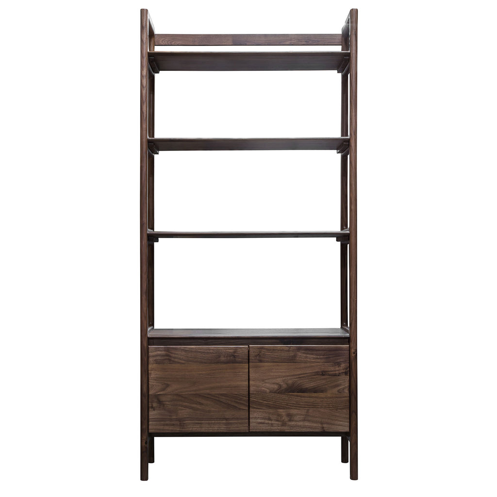 Malmö Open Display Unit, Walnut