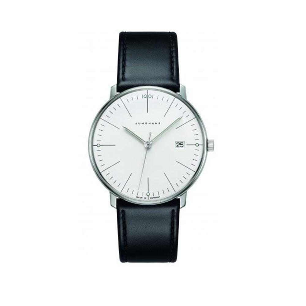 Junghans Max Bill Quartz, Black 041/4817.04
