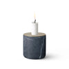 Chunk of Marble, White Candle Holder