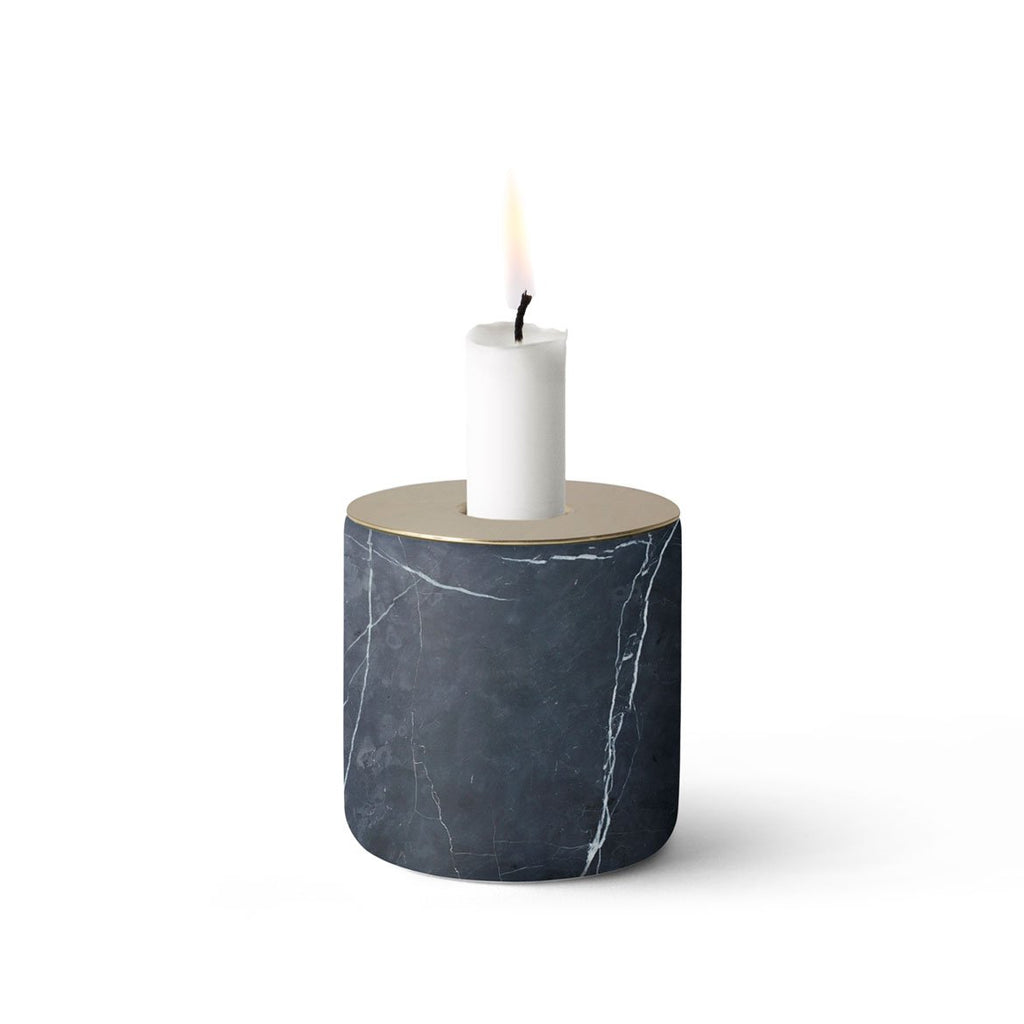 chunk-of-marble-candle-holder-black