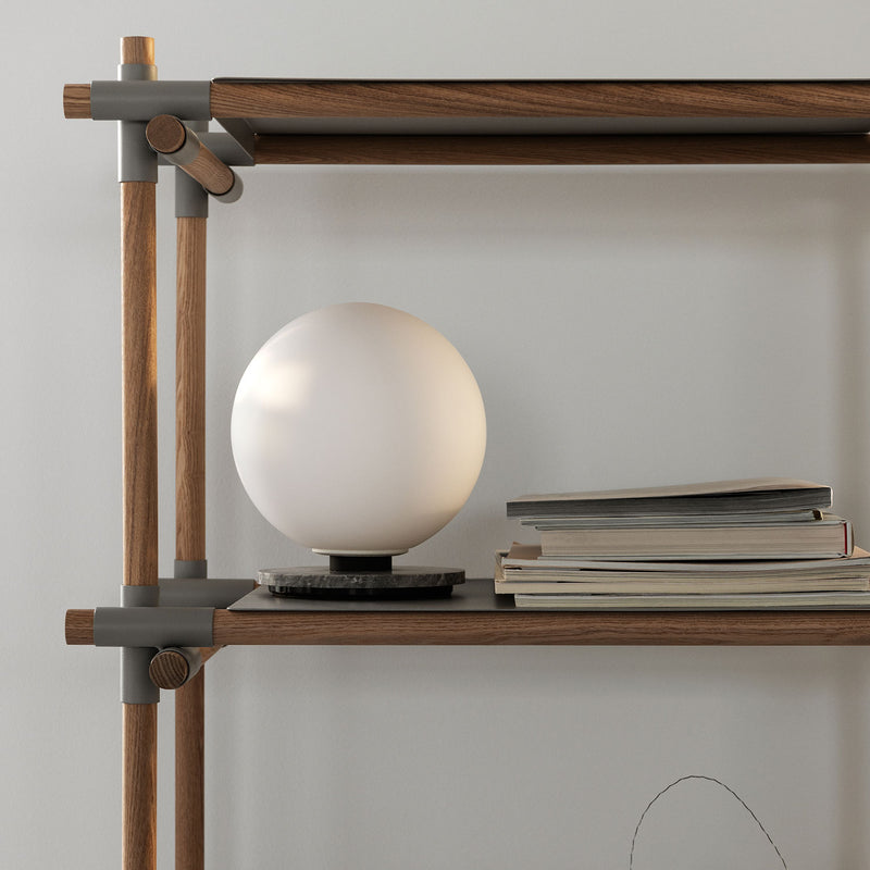 TR Bulb Table/Wall Lamp, Grey Marble