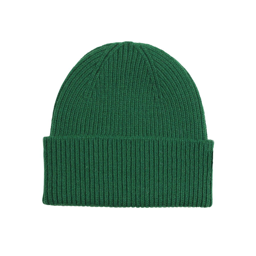 Merino Wool Beanie, Kelly Green