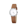 Helvetica No1 Light Womens 26 mm, White Face by Mondaine