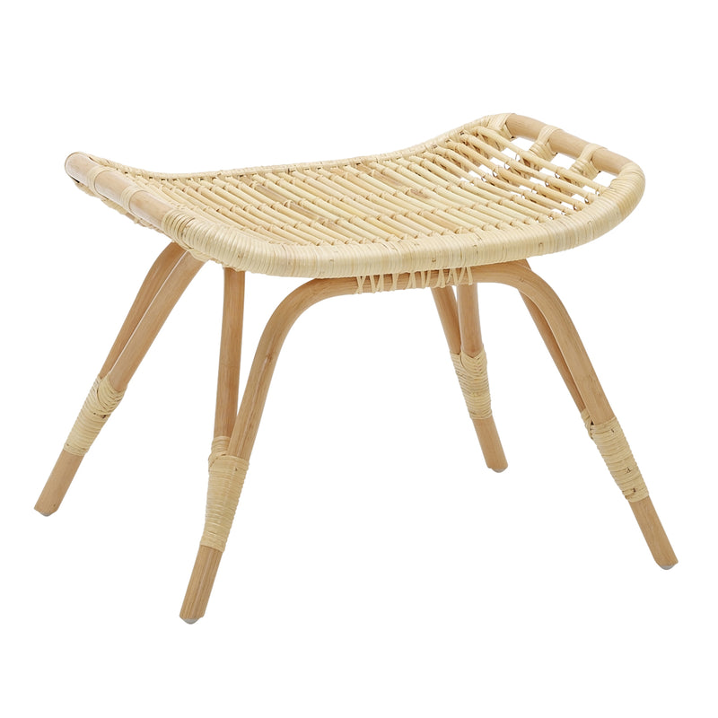 Monet Rattan Footstool