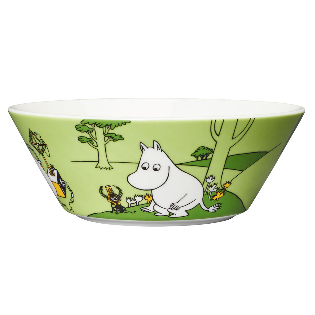 Moomintroll Bowl Green