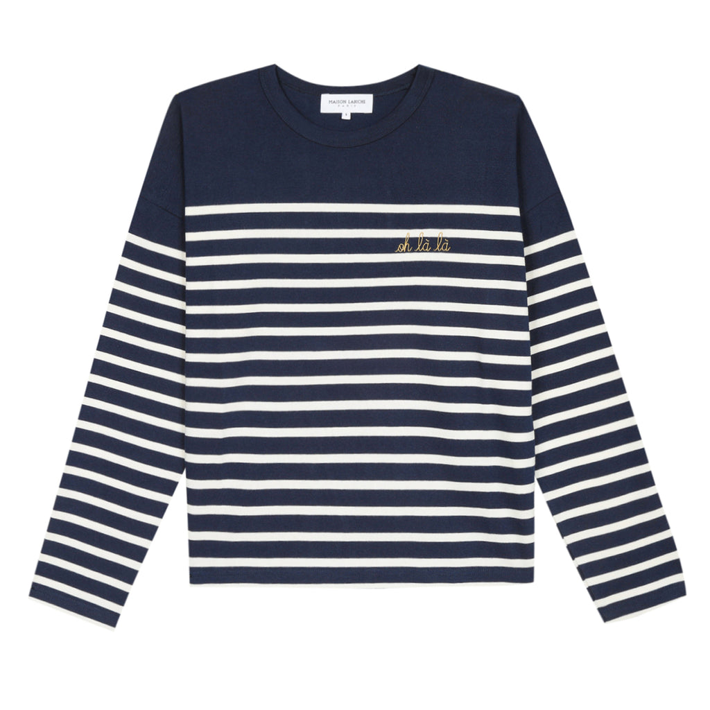 Sailor Stripe T-Shirt, Oh La La