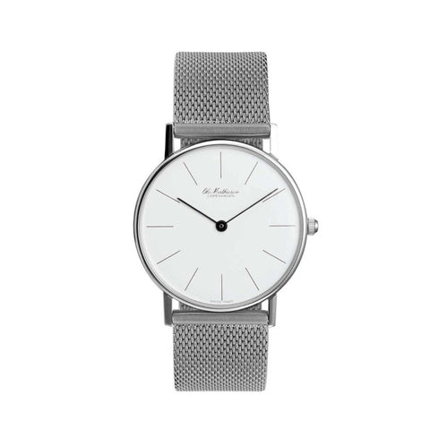 OM3.28.Q Ladies Watch, White Face