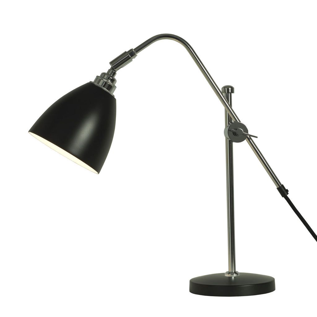 Task Table Lamp, Black
