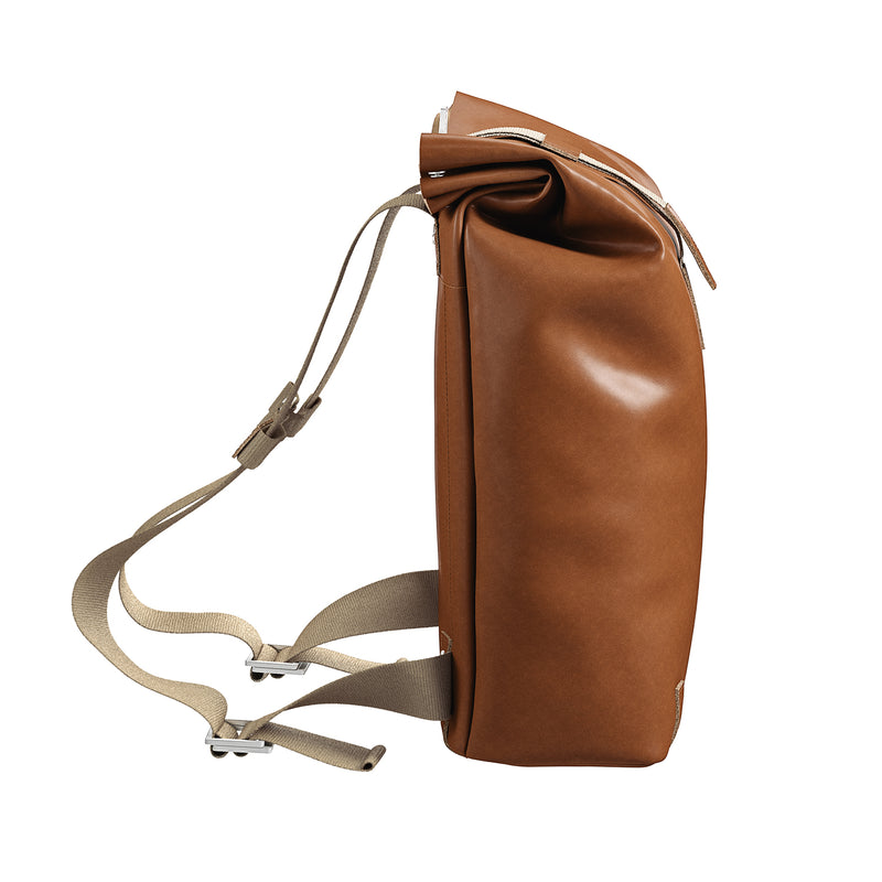 Pickwick Roll Top Backpack, Leather 12L