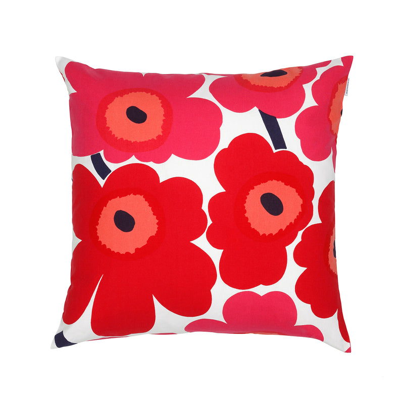 Pieni Unikko Cushion, Red 50cm