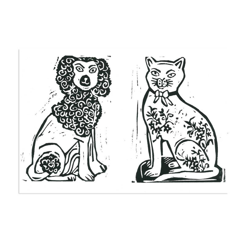 frinton-poodle-and-tattooed-kitty-lino-print