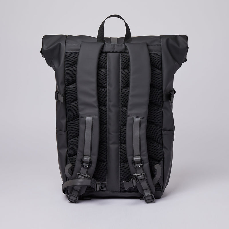 Ruben 2.0 Rolltop Backpack, Black