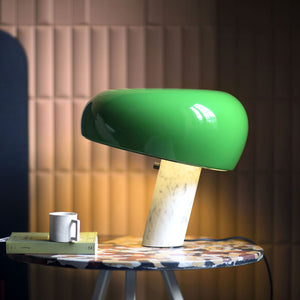 Snoopy Table Lamp, Green