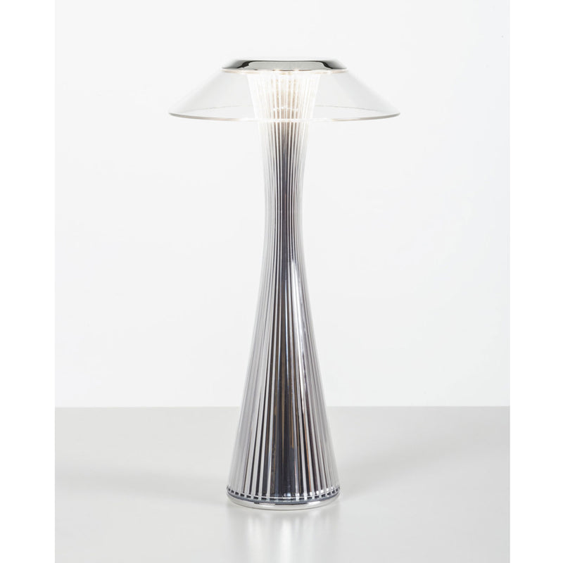 Space Table Lamp, Chrome