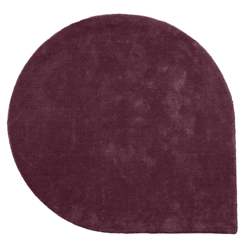 Stilla Rug, Bordeaux Red