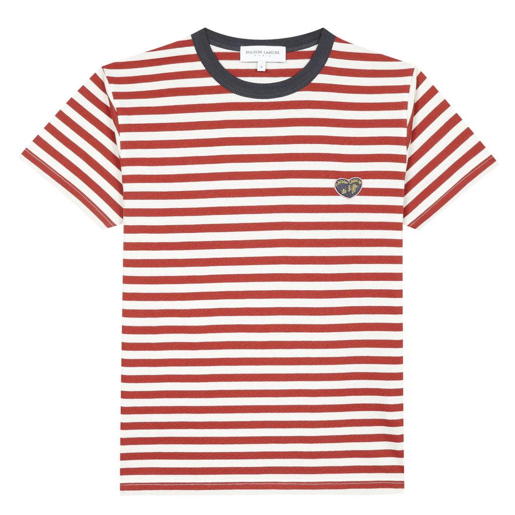 Stripe T-Shirt, Red