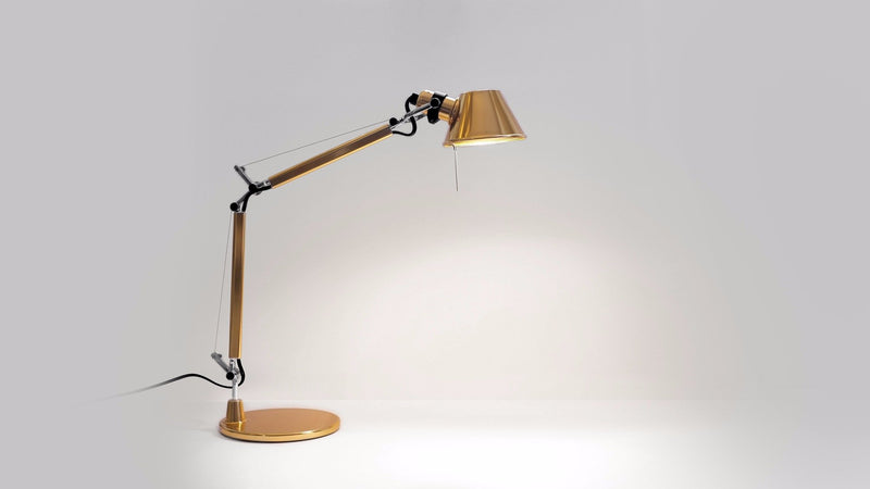 Tolomeo Micro Lamp. Gold by Artemide