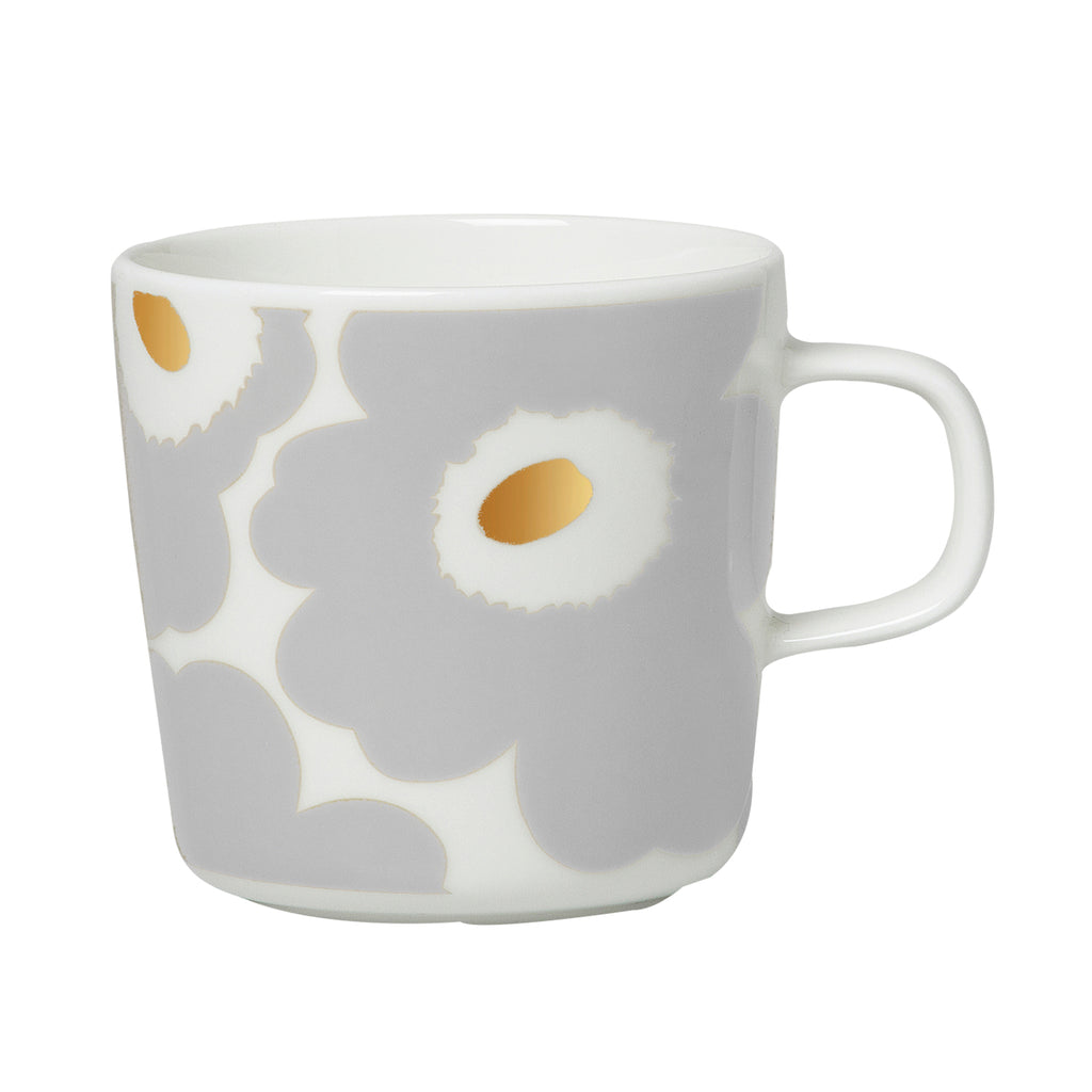 Oiva Unikko Coffee Cup, Grey 2dl