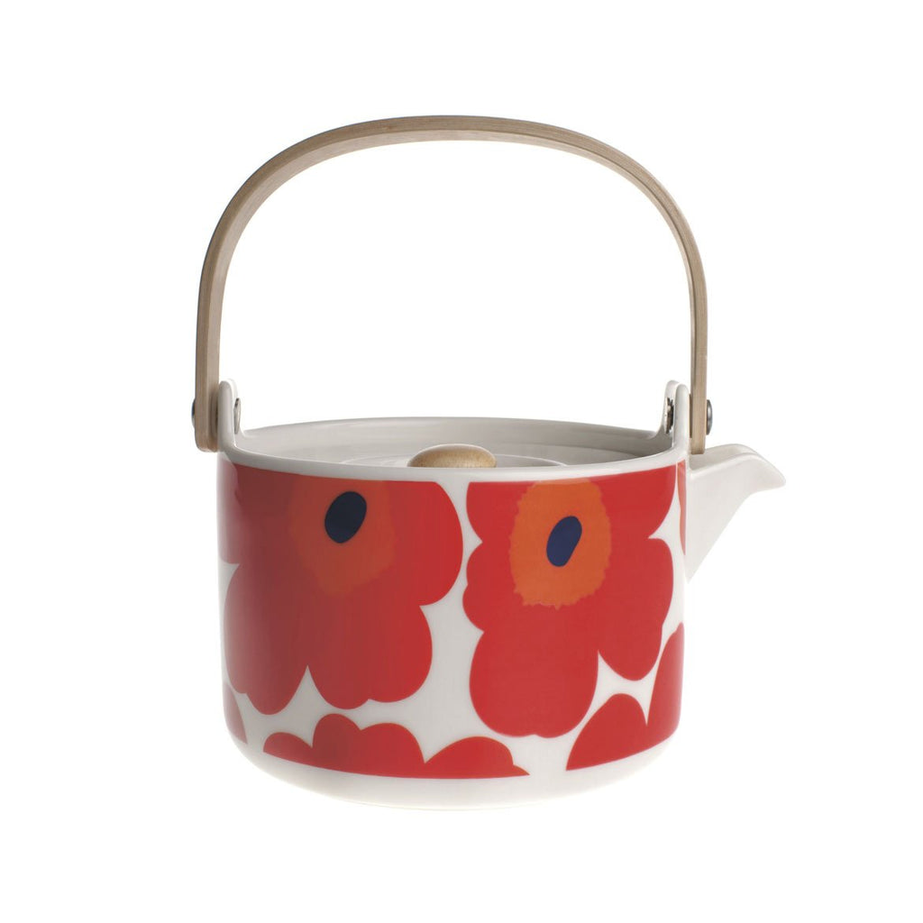 unikko-red-teapot