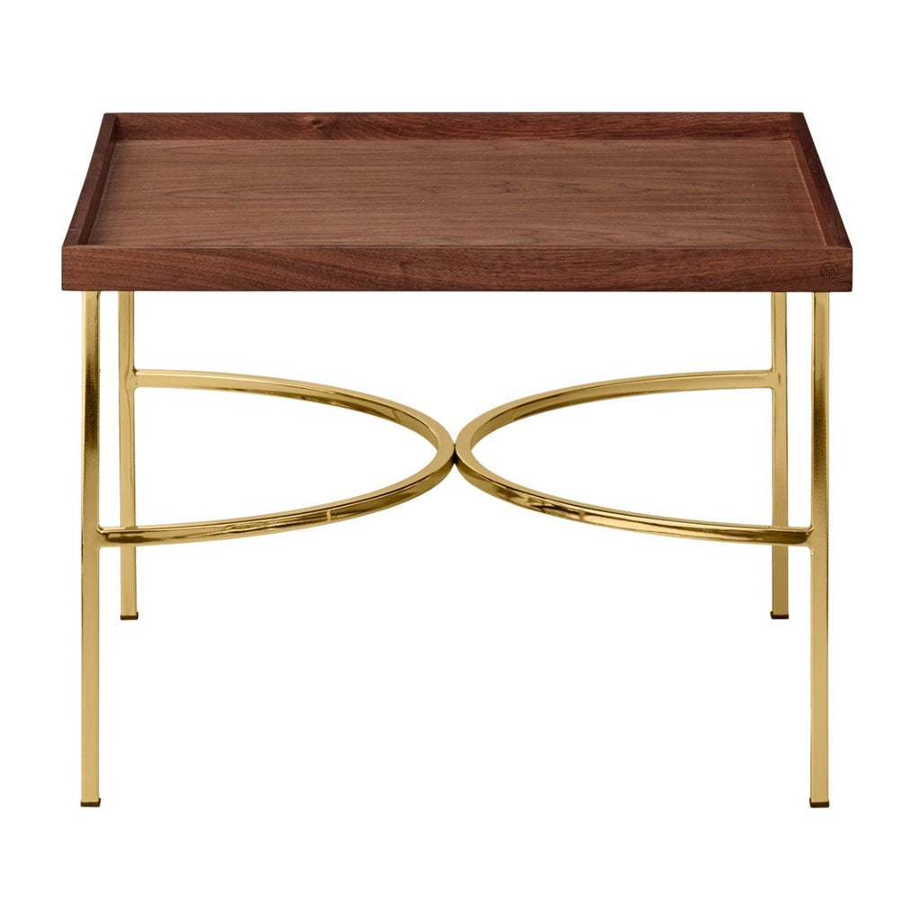 Unity Table, Walnut Gold by Aytm