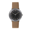 Acadia 40mm Watch, Military Grosgrain Strap