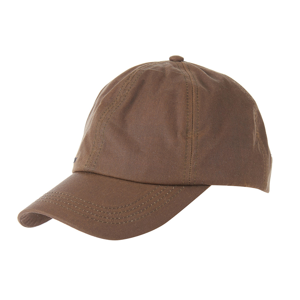 Wax Sports Cap, Brown