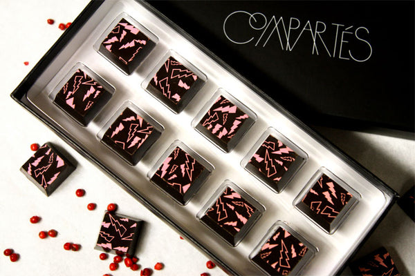 Spicy Hot Valentine's Organic Chocolate Raspberry Pepper