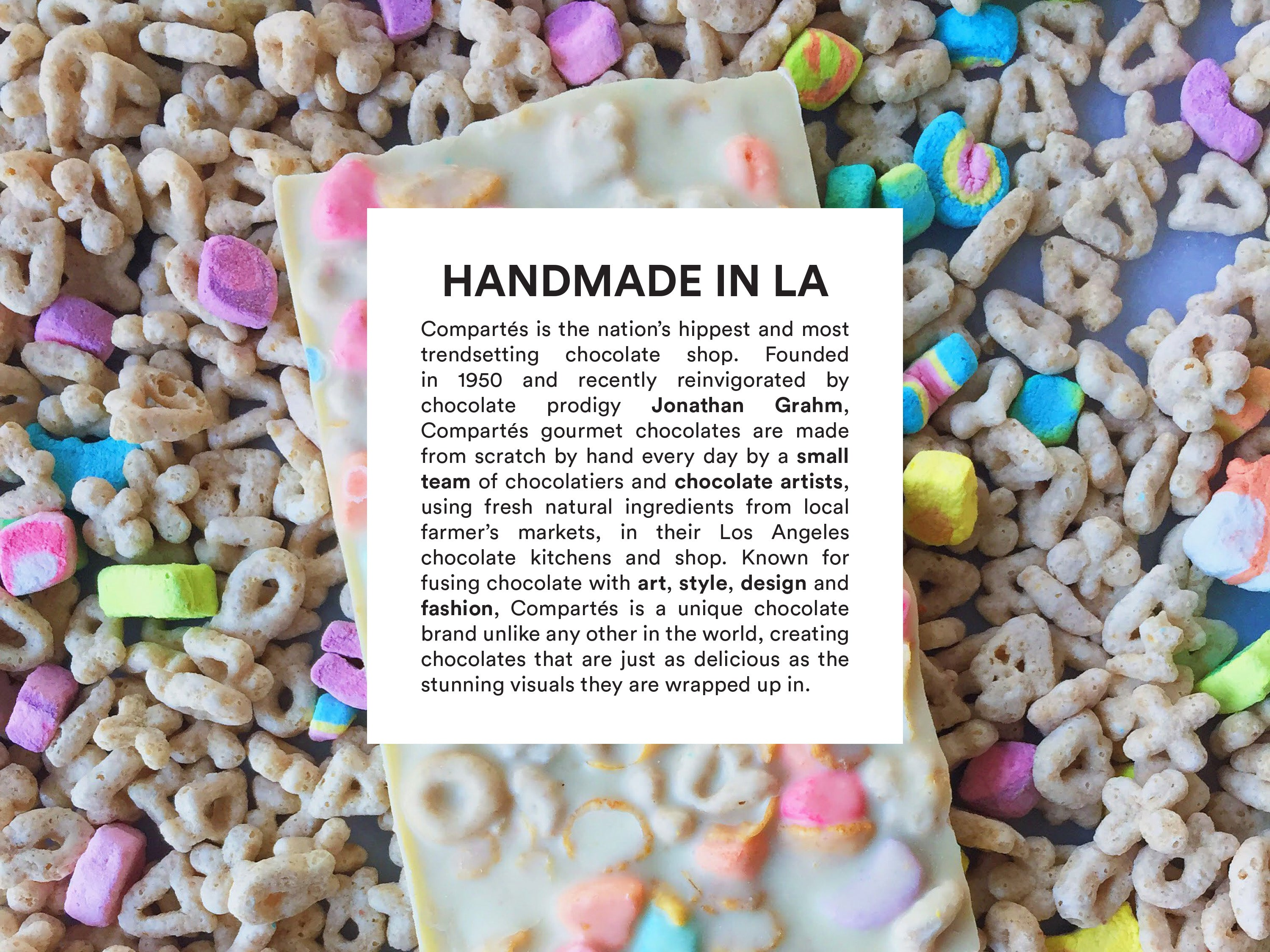 Compartes Handmade Los Angeles Chocolates