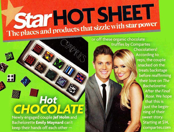 Star Magazine Celebrity Chocolate