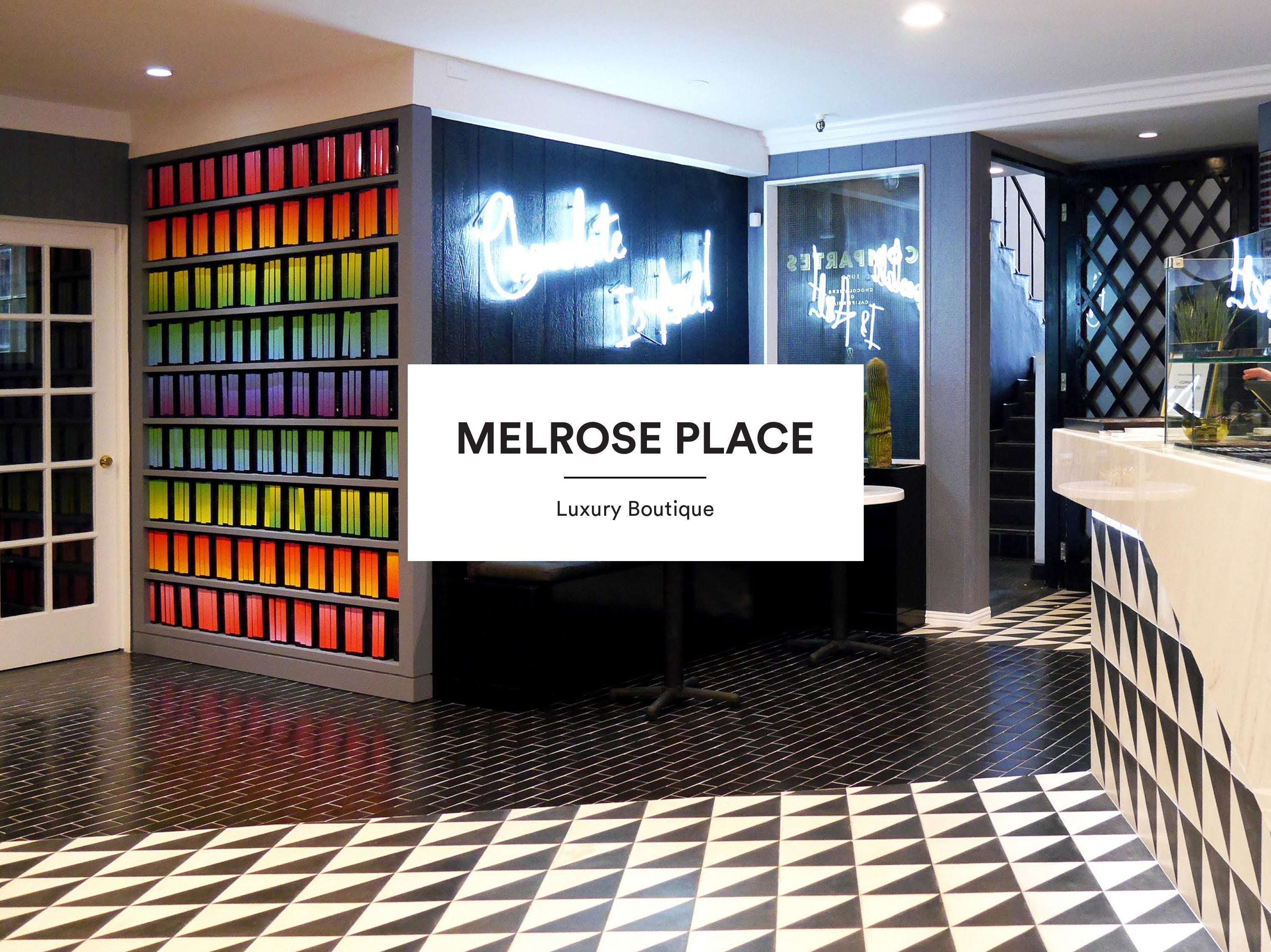 Compartes Melrose Place Luxury Chocolate Shop