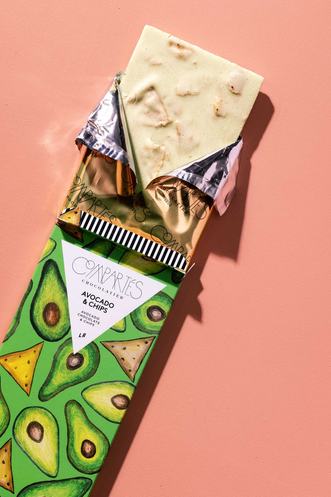 Avocado Chocolate Bar 2020 By Compartes Chocolatier