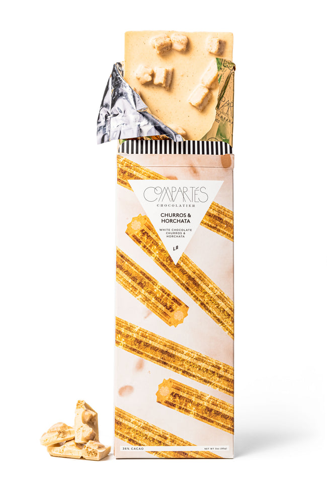 Compartes Churro Horchata Chocolate Bar Premium