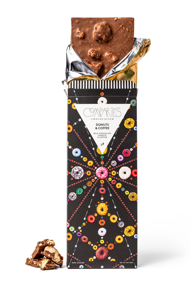 Compartes Donuts Coffee Gourmet Chocolate Bar