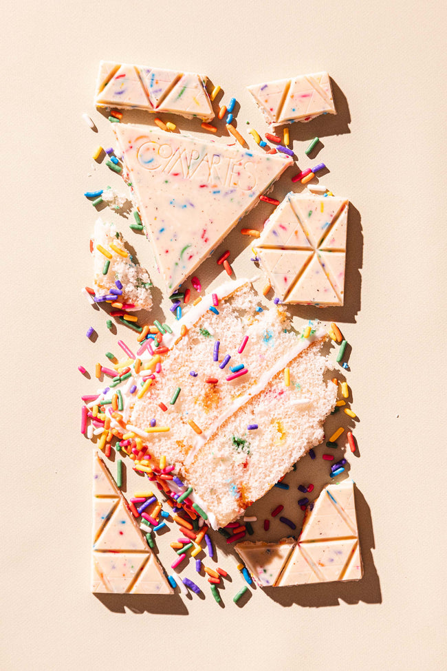 Compartes Chocolate Bars Cake Sprinkles Los Angeles