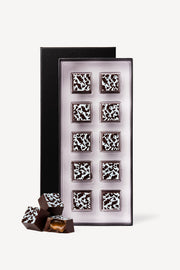 Caramel Brulee Gourmet Chocolates Gift Box Sea Salt Caramel Chocolate