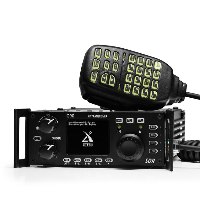 Xiegu G90 HF Radio | SDR | QRP | Build-in Auto Antenna Tuner | 20W | Remote Head