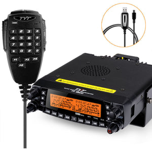 TYT TH-9800 PLUS Fyrbands mobil radio med programmeringskabel