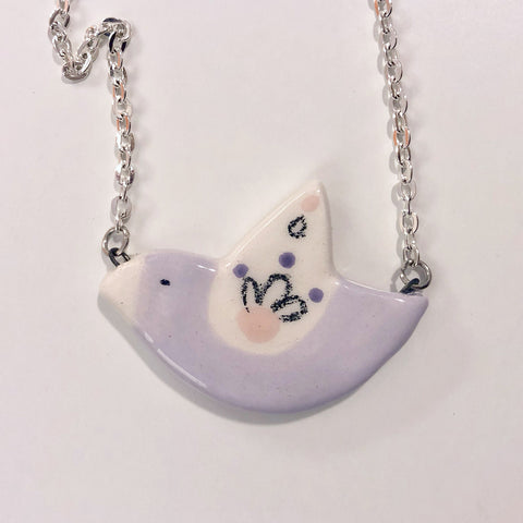 Ceramic Bird Necklace