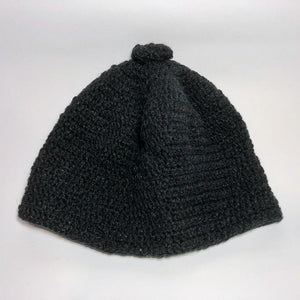 Hand-Knit Sparkly Hat