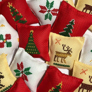 Small Aromatic Christmas Pillows 3-pack