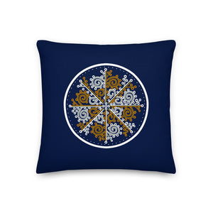 ZVRK Pillow in Dark Blue