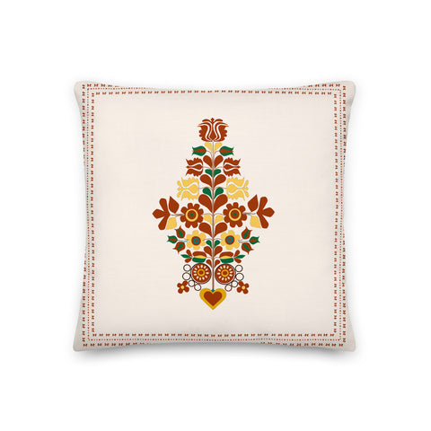 SRCE Pillow in Creamy White
