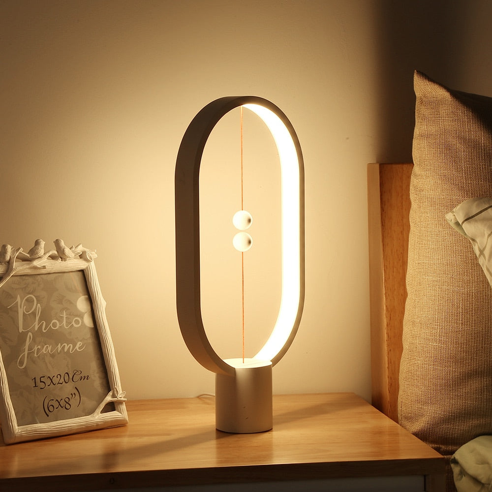 Hygge Designer Lamp - Modern Desk and Bed Light