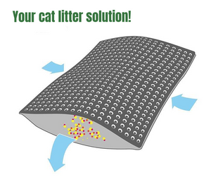 LitterClean - Cat Litter Trapper