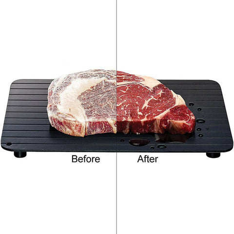 SpeedThaw™ - Speed Thawing Plate for Meat, Poultry, Fish and More
