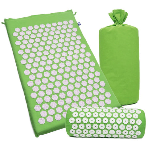 HealFlow - Acupressure Mat & Pillow Complete Set